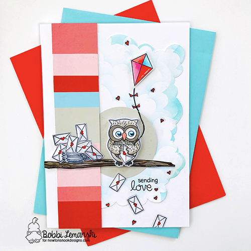 Sending Hugs by Bobbi features Sending Hugs and Doxie Delights by Newton's Nook Designs; #newtonsnook