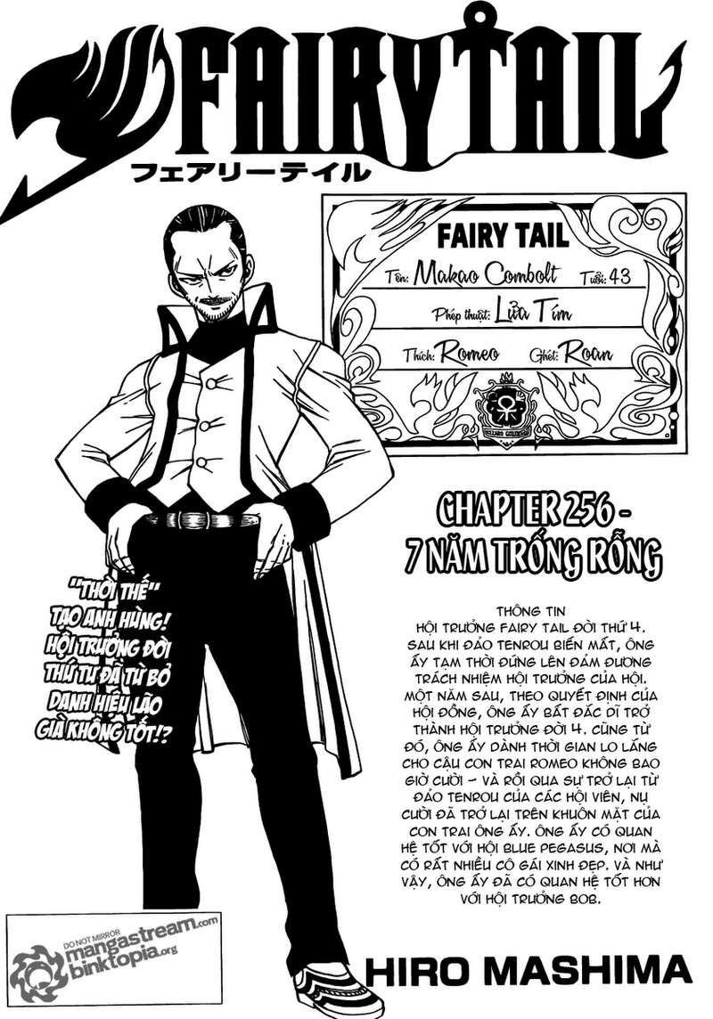 Fairy Tail chap 256 trang 1