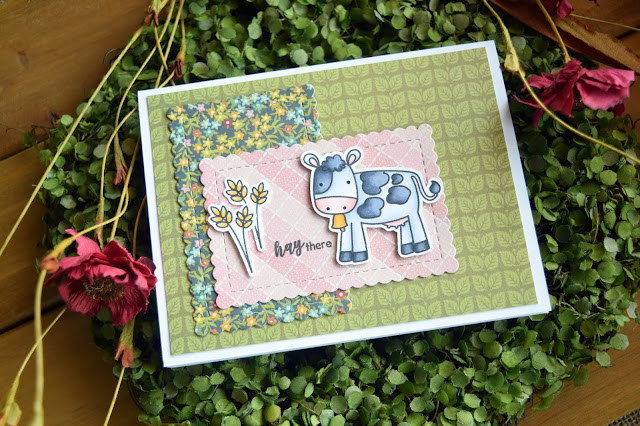 Farm Cards by Jess Crafts featuring Scrapping for Less May 2018 Countryside Card Kit