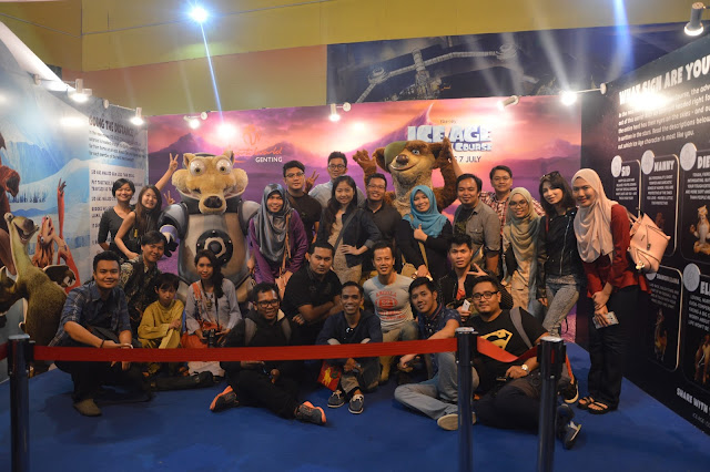 Spacetastic Adventure with Ice Age Collision Course at Resorts World Genting Highlands