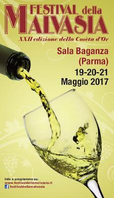 Festival della Malvasia 19-20-21 maggio Sala Baganza (Pr)