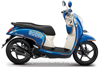 Sewa Sepeda Motor Scoopy di Banda Aceh
