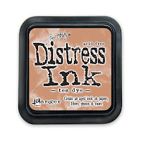 Tinta Distress color Tea Dye