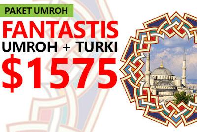 Paket Umroh Plus Turki April 2017