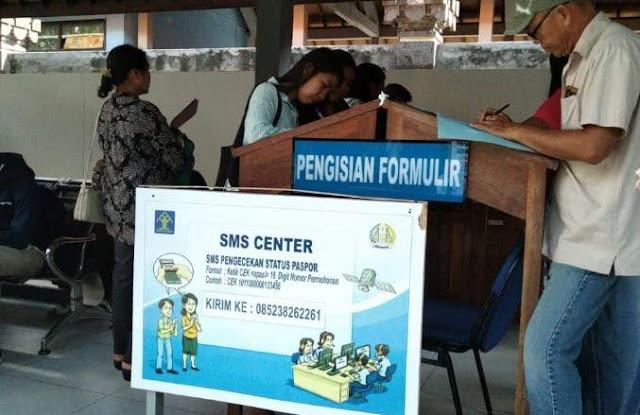 Tempat Mengisi Formulir Pembuatan Paspor Denpasar Bali