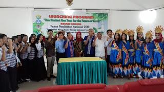 KAMIJO Gandeng Menteri KLH dan Mendikbud RI Canangkan Program One Student One Tree atau Satu siswa Satu Pohon