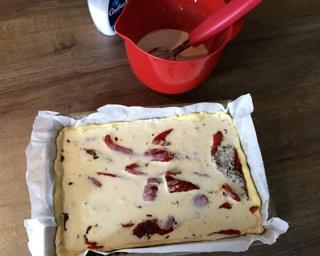 """Alt=""""tarte sans gluten aux poivrons"""""""