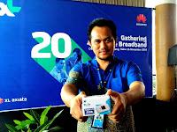 XL Luncurkan Layanan Tiga Layanan Broadband