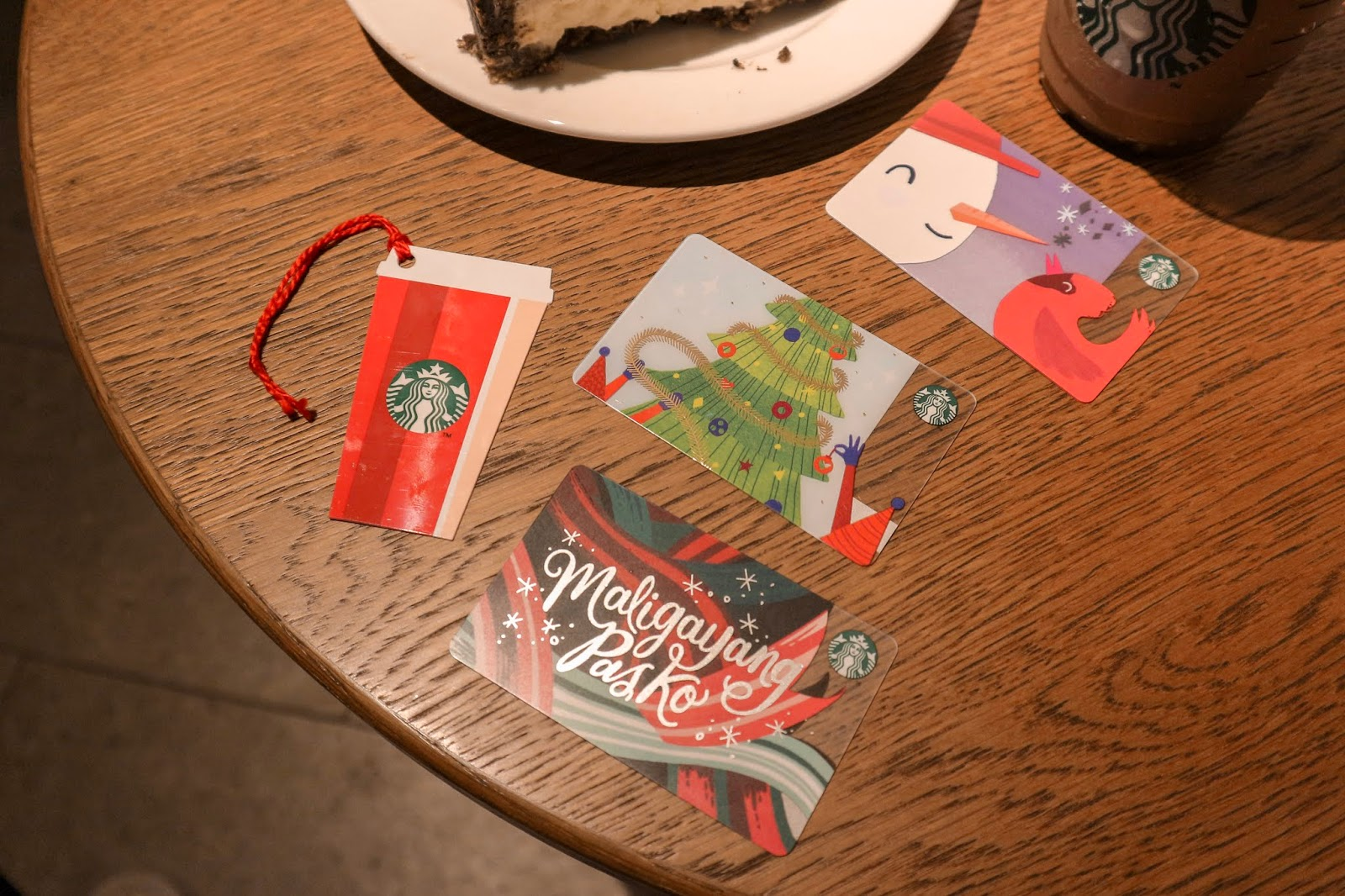 Starbucks Christmas Cards 2018