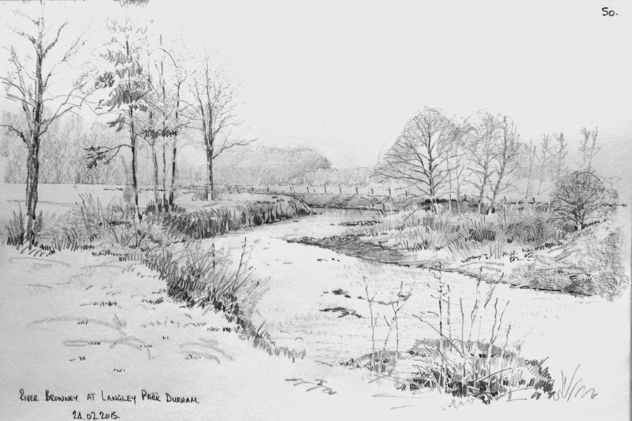 Malcolm Coils Pencil Sketches
