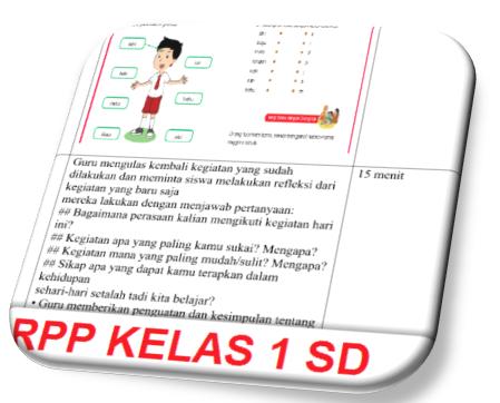 Contoh Rpp Kelas 1 Sd Kurikulum 2013 Revisi Terbaru 2017 Info Guru Indonesia