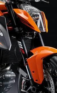 KTM 1290 Super Duke R ABS: Diseño Frontal