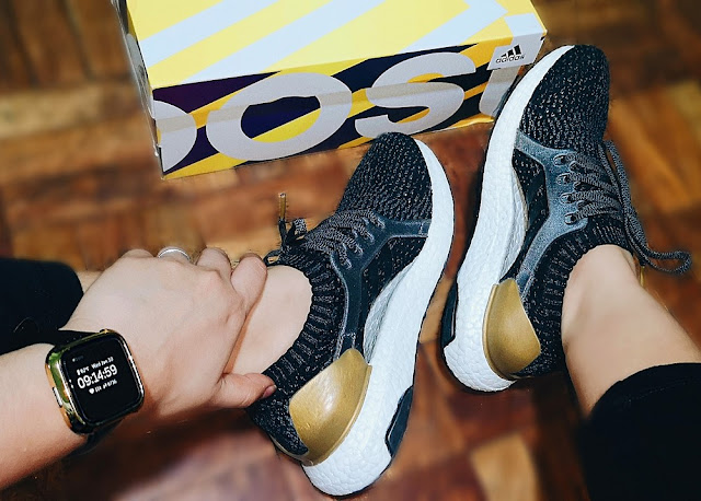 Adidas Ultraboost 2018 in Black and Gold