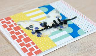Die cut paper strips - video - Wendy