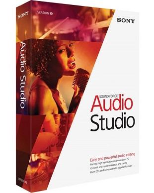 MAGIX Sound Forge Audio Studio 10.0 Build 295 poster box cover