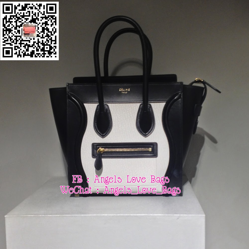 d36f0a687a7 Angels Love Bags - The Fashion Buyer  ✦ CELINE Micro Luggage Tote ...
