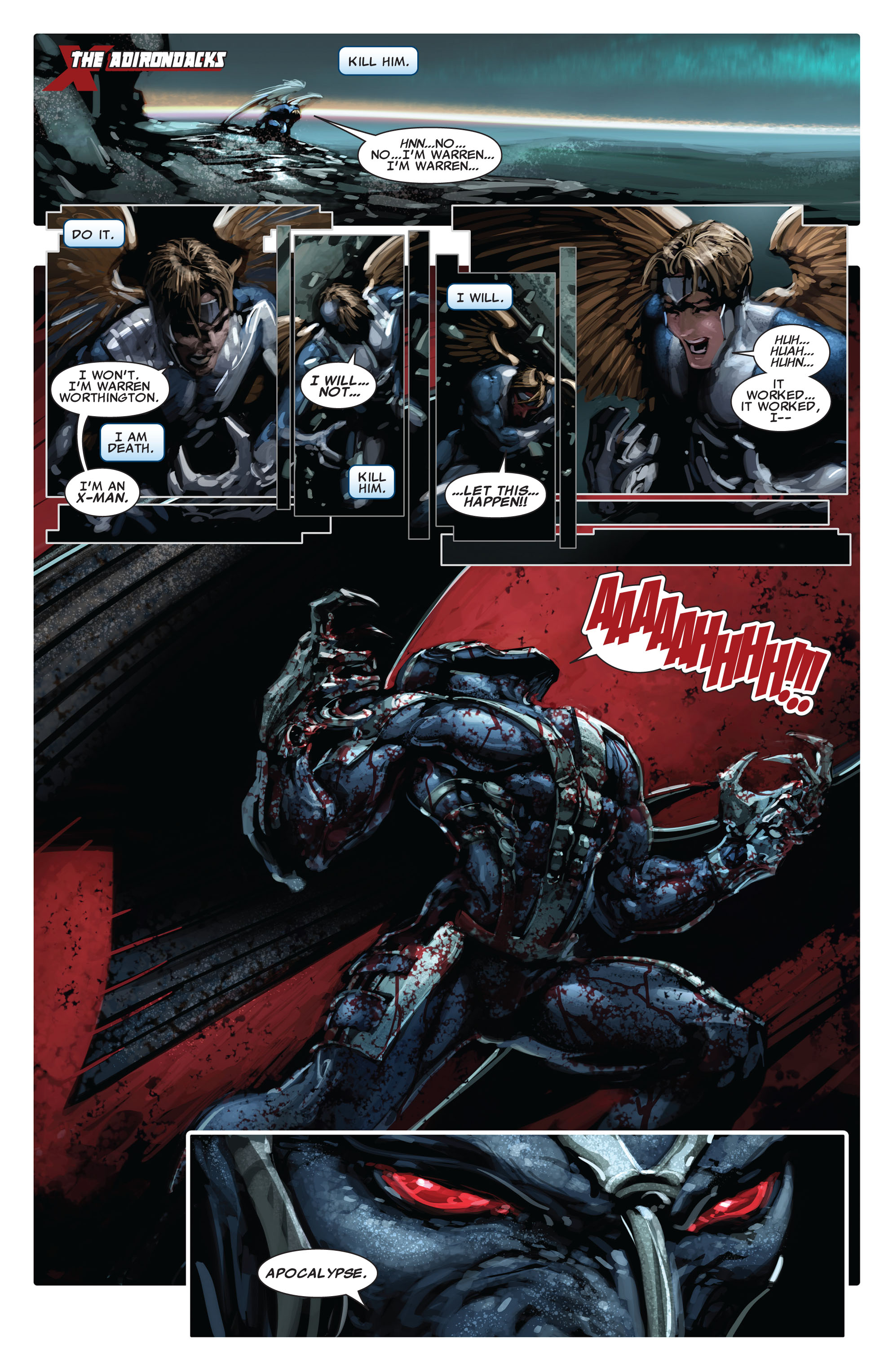 Read online X-Force (2008) comic -  Issue #15 - 10