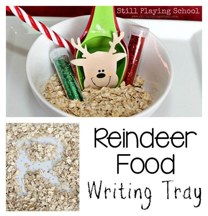 Christmas Writing Tray