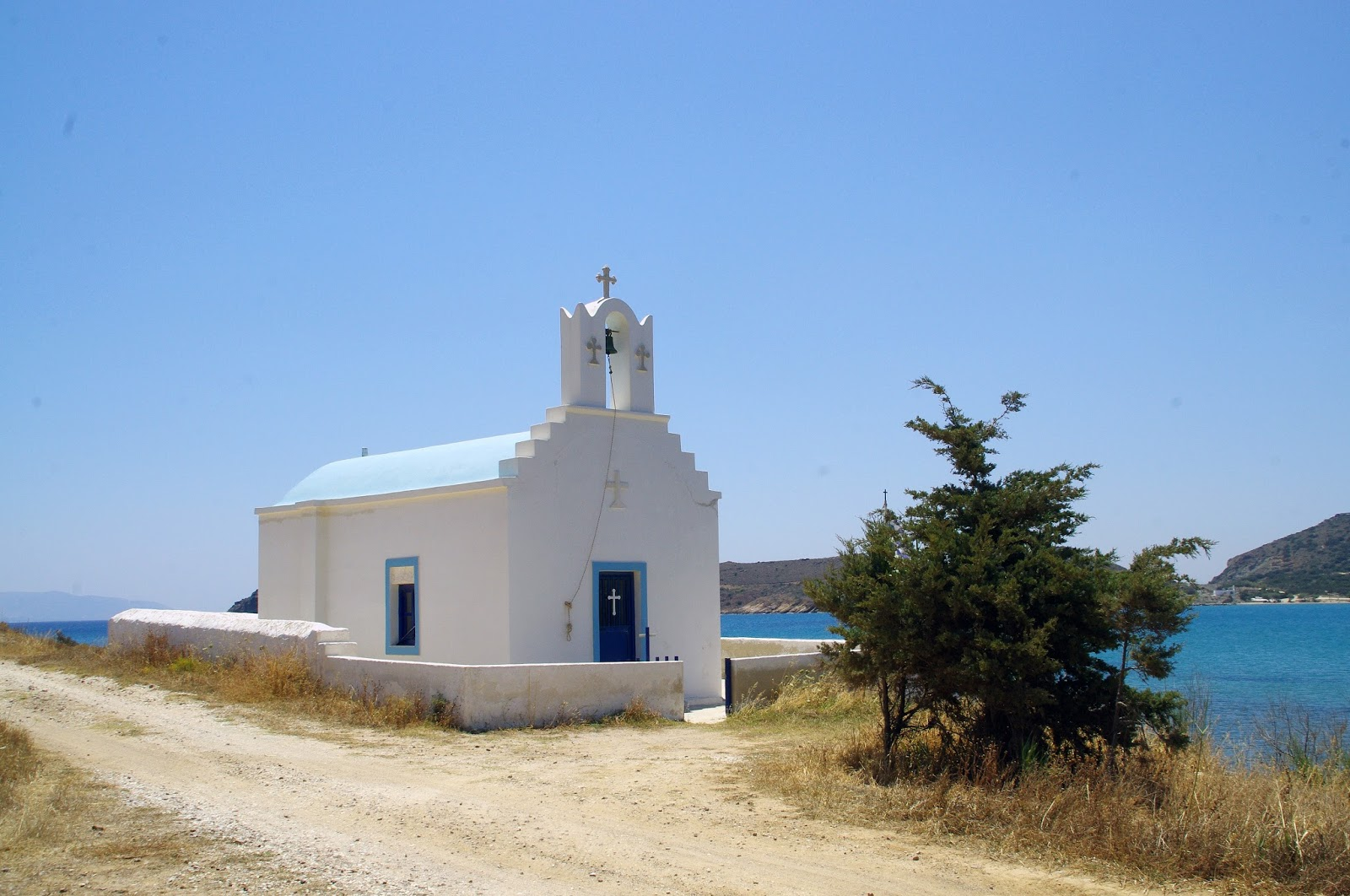 Paros Island Church