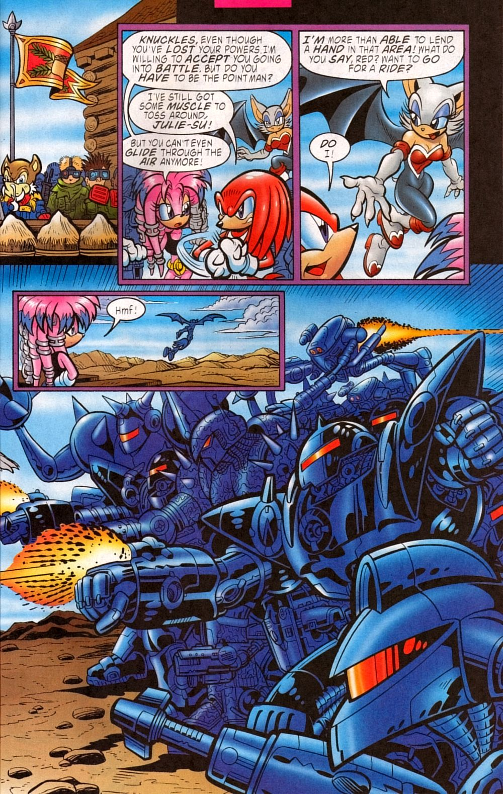 Read online Sonic The Hedgehog comic -  Issue #133 - 9