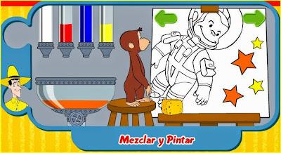 Jugando y aprendiendo juntos Jorge el Curioso Juego de Mezclar y