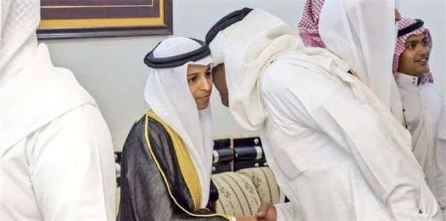 16 YEAR OLD SAUDI BOY IS NOW A FATHER