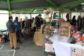 El mercado de segunda mano Kukuxu Market en Llano