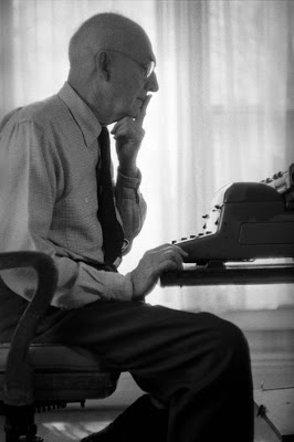 William Carlos Williams © Eve Arnold-Magnum Photos 1957
