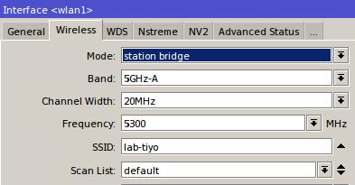 Instalasi VLAN dalam Jaringan Wireless dengan Mikrotik