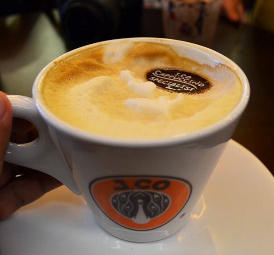 Jcoccino, J.CO's signature cappuccino.