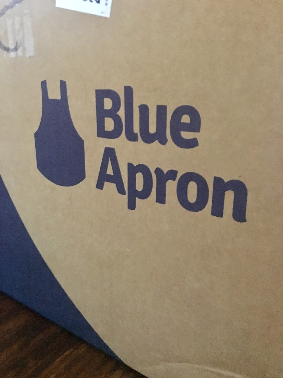 Blue apron recycle ice pack
