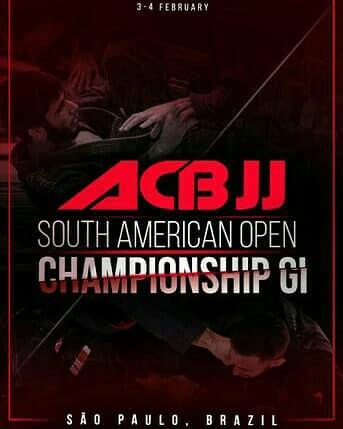 Campeonato Russo ACBJJ South American Open Championship GI - 3 a 4 fevereiro - inscrições abertas!