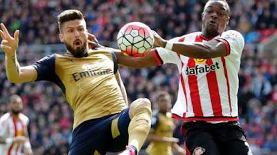 Hebat!, Sunderland Tahan Imbang Arsenal