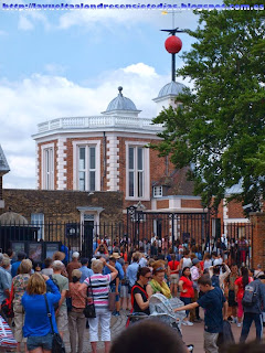 Ceremonia de la caída de la bola horaria en Greenwich