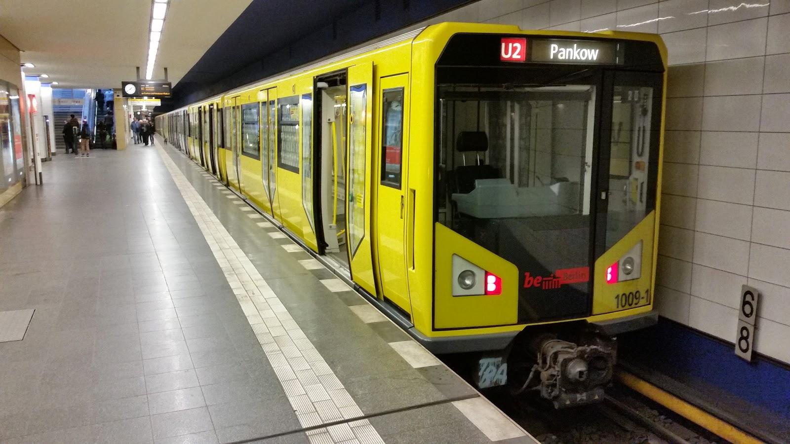 U Bahn Berlin Bilder