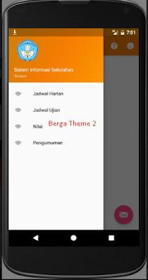 Sourcecode Android Studio & PHP API Sistem Akademik Sekolah Versi 1.0