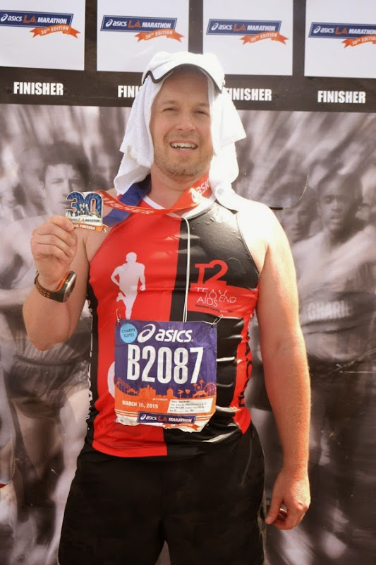 2015 LA Marathon Finisher