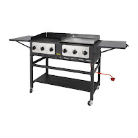 Nisbets commercial barbecue