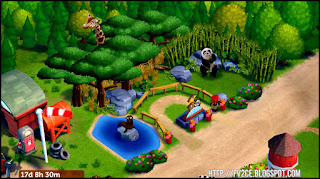 fv2ce, farm, traveling zoo, giraffe, panda