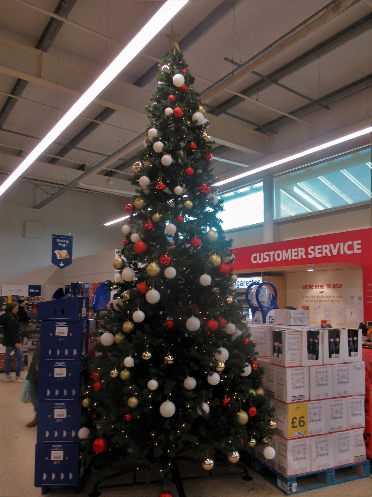 England Christmas Tree.Martin Brookes Oakham Rutland England Christmas Tree Tesco