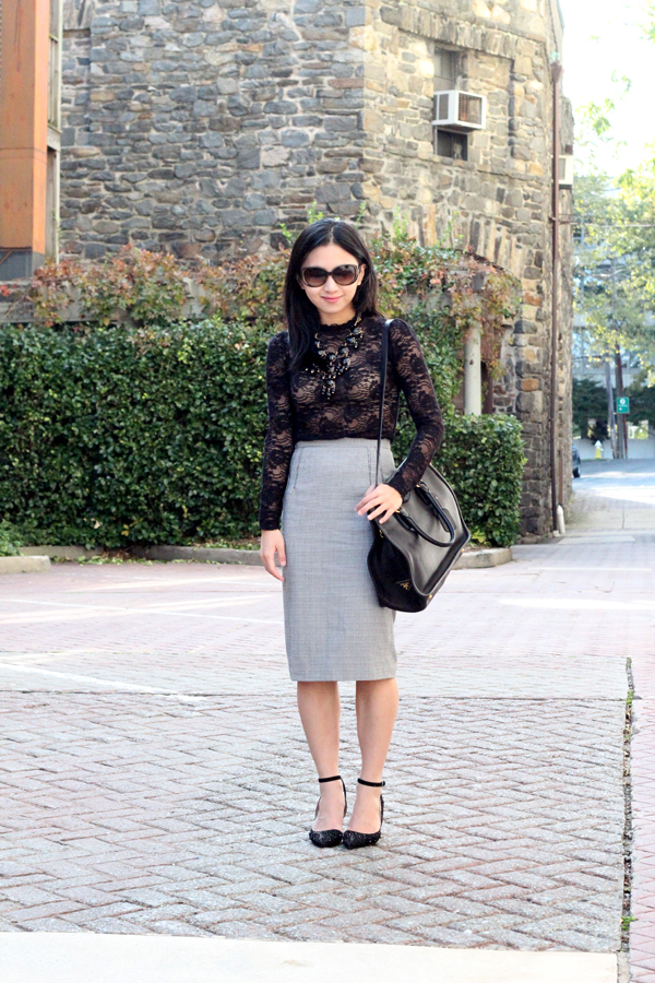 Black Lace and Houndstooth