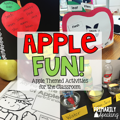 Apple Activities for the Classroom