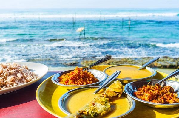 Шри-Ланка еда