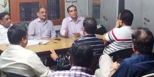 Meeting of guardian unity platform Faridabad against the arbitrariness of private schools