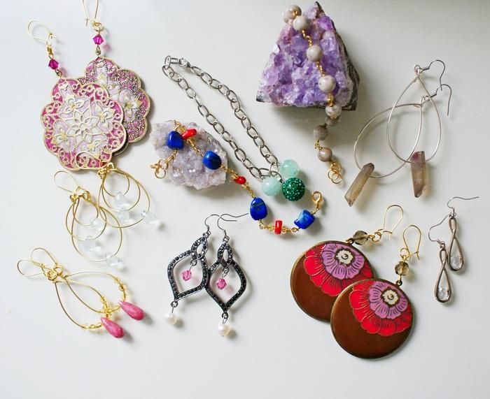 springsummer jewelry bohojewelry handmade francinesplacejewels