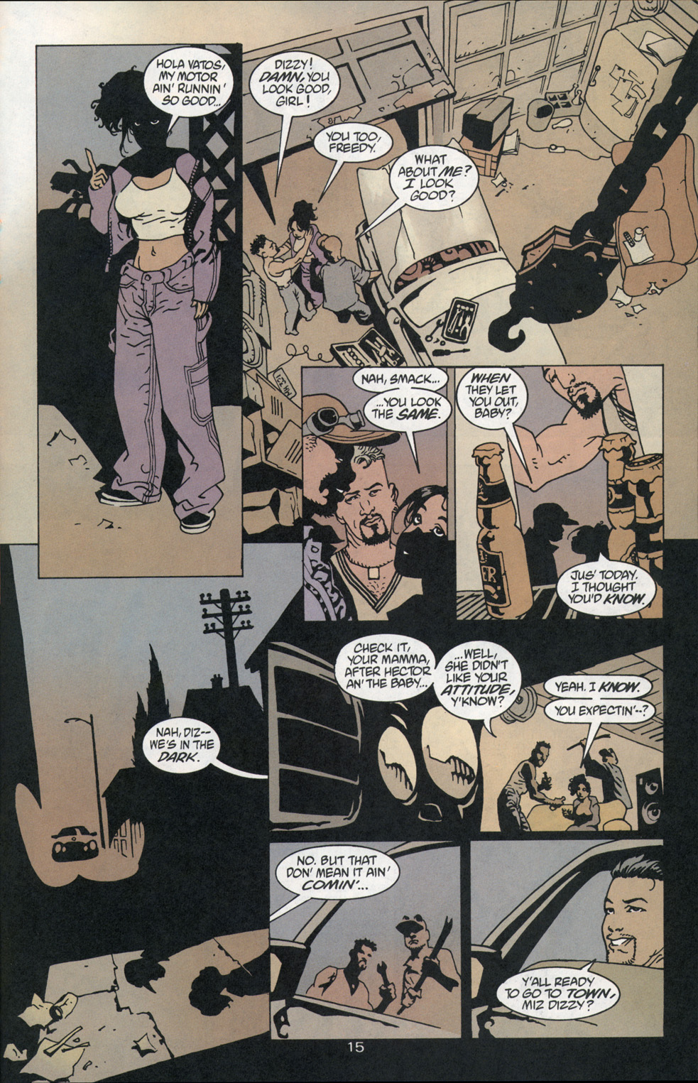 Read online 100 Bullets comic -  Issue #1 - 16