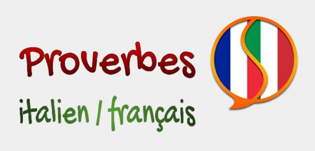 Proverbes italien / français