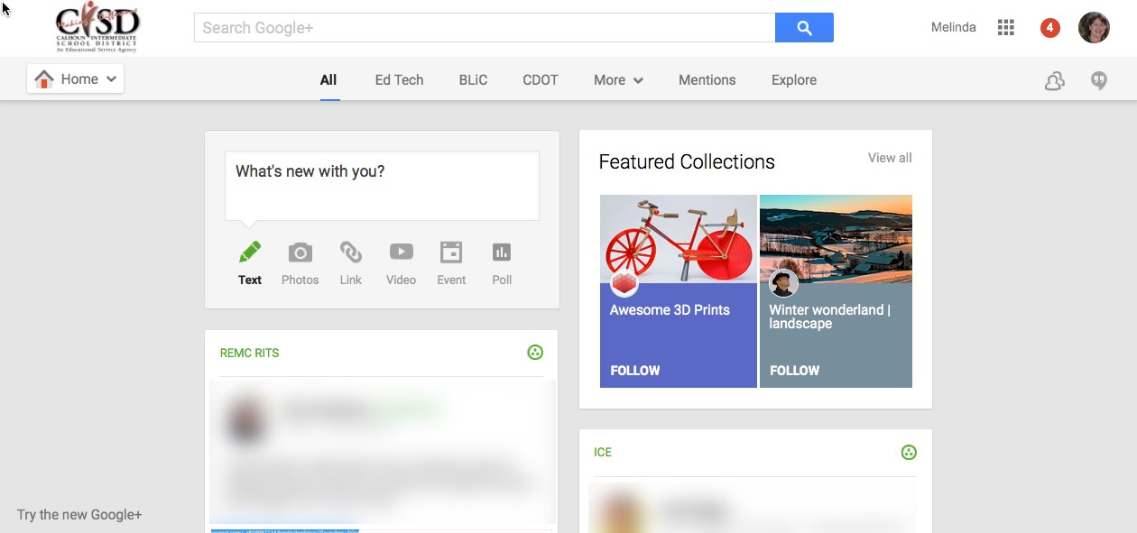 Google Plus Preview The Updated Plus