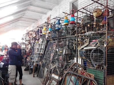 Mercado Persa Bio-Bío Barrio Franklin, Santiago Chile