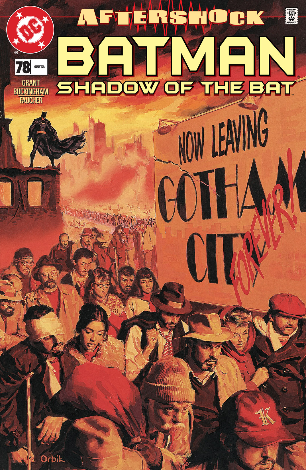 Batman: Shadow of the Bat 78 Page 1